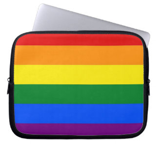 Rainbow Pride Flag Laptop Computer Sleeves