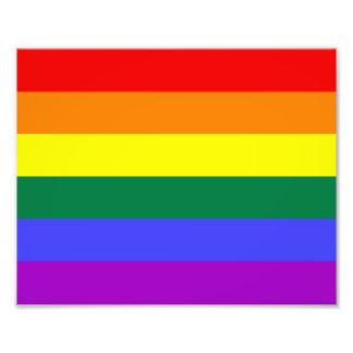 Rainbow Pride Flag Photograph
