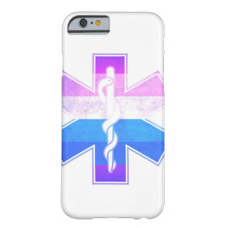 Rainbow Pride Medical Asclepius Caduceus Barely There iPhone 6 Case