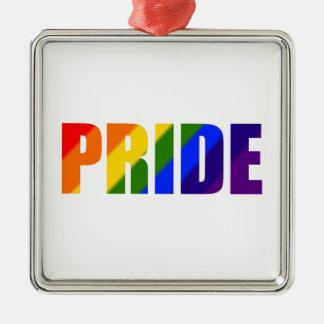 rainbow pride ornament