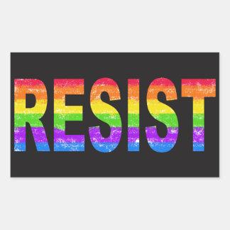Rainbow Pride Resistance Sticker
