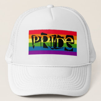 RAINBOW PRIDE TRUCKER HAT