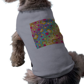Rainbow princesses and stars dog shirt