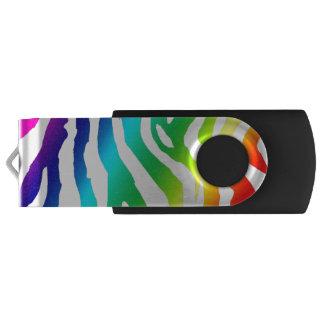 Rainbow print USB USB Flash Drive