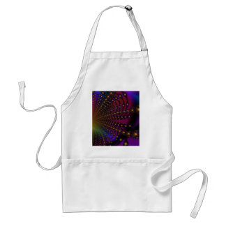 Rainbow Psyched Fractal Apron