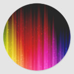 Rainbow Pumped Up Sticker