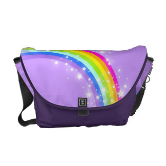 Rainbow purple everyday bag courier bags