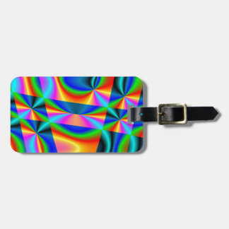 Rainbow quilt~ Luggage Tag