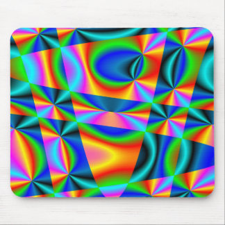 Rainbow quilt ~ Mousepad