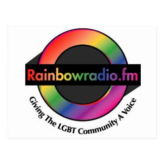 Rainbow Radio FM Merchandise Postcard