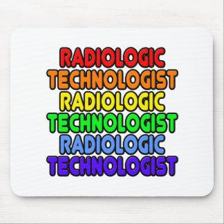 Rainbow Radiologic Technologist Mouse Pad