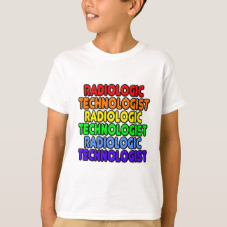 Rainbow Radiologic Technologist T-Shirt