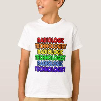 Rainbow Radiologic Technologist Tshirt
