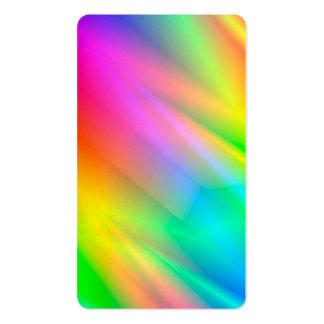 Rainbow Rain Business Card Template