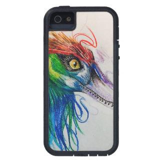 Rainbow Raptor Tough Iphone Case