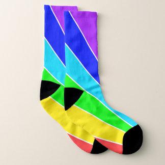 Rainbow Rays Socks