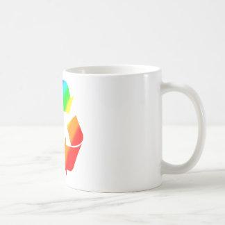 Rainbow Recycle Sign Coffee Mug