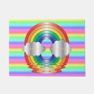 Rainbow Reflection Home Door Mat