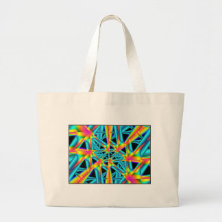 rainbow reflections tote bags