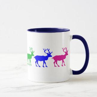 Rainbow Reindeer Mug