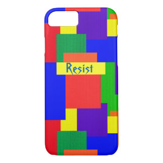 Rainbow Resist Patchwork Quilt iPhone 8/7 Case