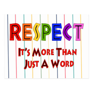 Rainbow Respect Post Card