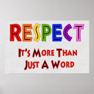 Rainbow Respect Poster
