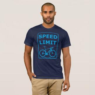 Rainbow Rex Speed Limit: Blue T-Shirt