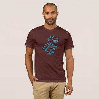 Rainbow Rex Tee: Blue T-Shirt