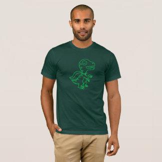 Rainbow Rex Tee: Green T-Shirt