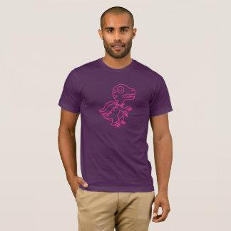 Rainbow Rex Tee: Pink T-Shirt