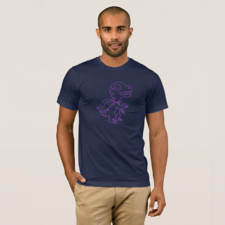 Rainbow Rex Tee: Purple T-Shirt