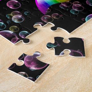 Rainbow ribbon puzzle (customizable!)