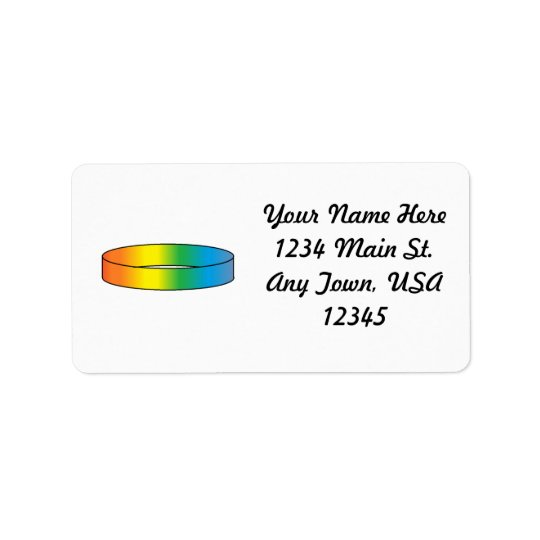 Rainbow RIng Label