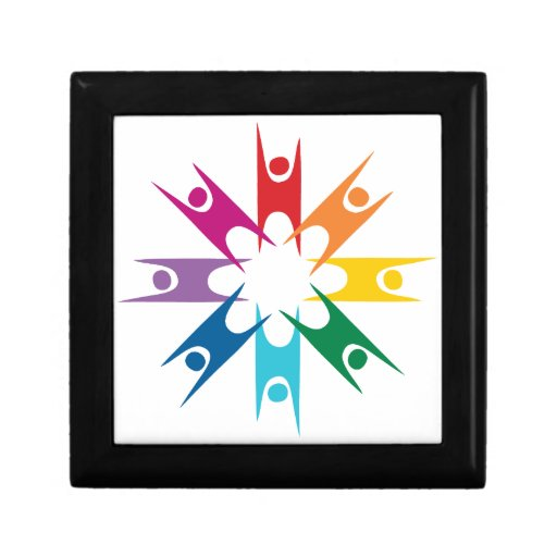 Rainbow Ring of Humanists Gift Box