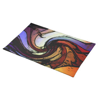 Rainbow Ripple Placemat
