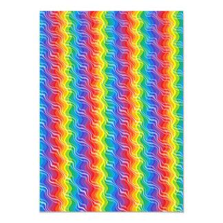 Rainbow Ripples Card