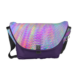 Rainbow Ripples Courier Bags