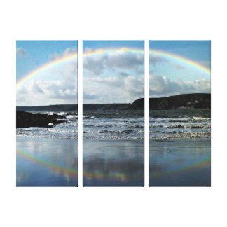 Rainbow river # piece canvas panel canvas prints