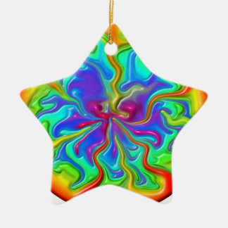 Rainbow Rivers Christmas Ornament