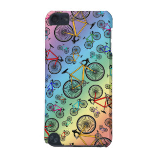 Rainbow road bikes iPod touch (5th generation) case
