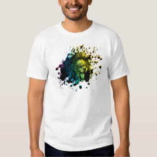 Rainbow Roaring Lion T Shirts