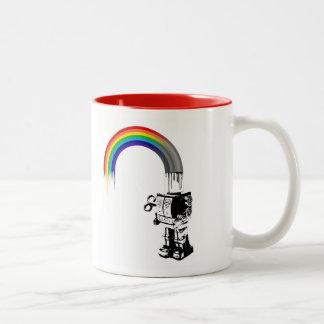 Rainbow Robot - Mug