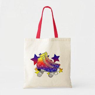 Rainbow Rollerskates Tote Bag