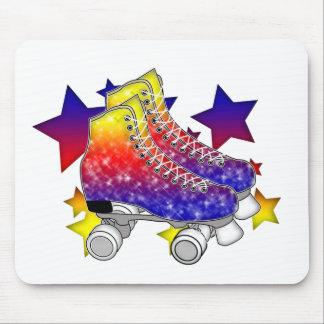 Rainbow Rollerskates Mousepads