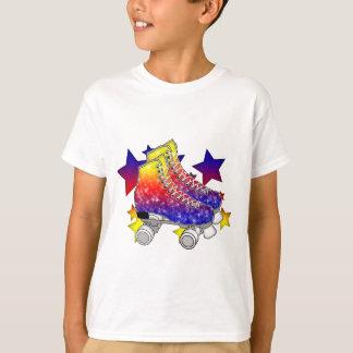 Rainbow Rollerskates Tees