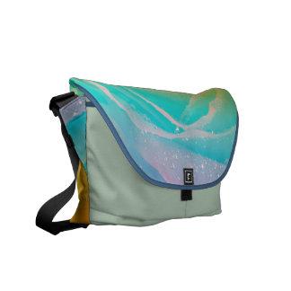 Rainbow Rose Design Commuter Bag
