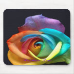Rainbow Rose Mouse Mats