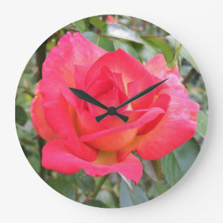 Rainbow Rose Wallclocks