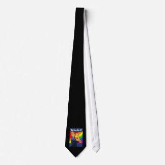 Rainbow Rosie Tie